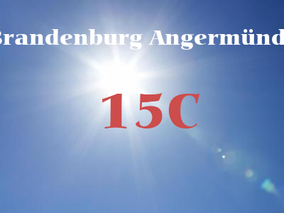 Brandenburg Angermünde weather