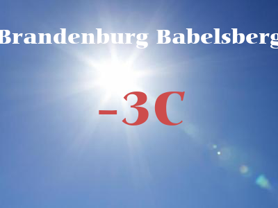 Brandenburg Babelsberg weather
