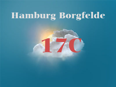 Hamburg Borgfelde weather