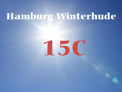 Hamburg Winterhude weather